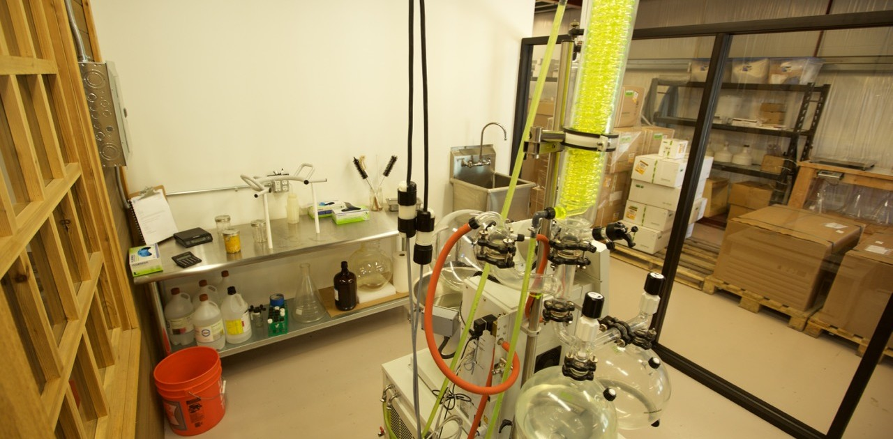 cannabis extraction lab